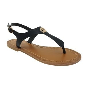 Pierre Dumas Women's Colored Flat Sandals